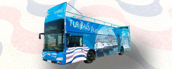 Bus turístico en Alicante