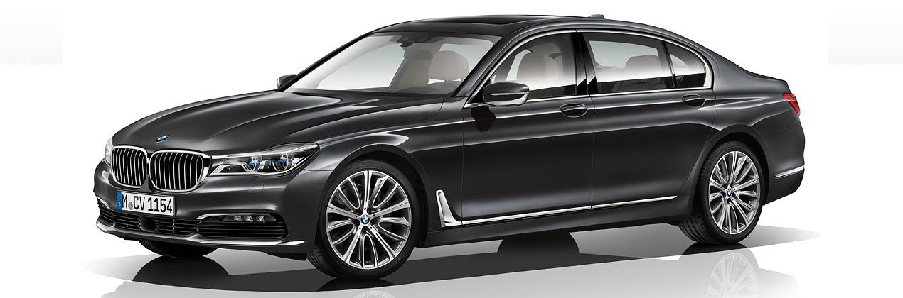 BMW7 series sedan
