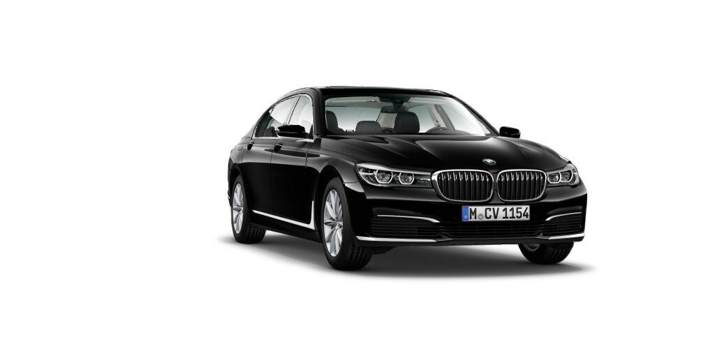 BMW740 negro