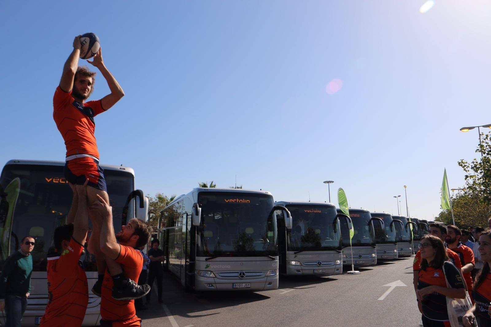 transporte de equipos deportivos en Alicante