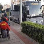 alquiler de buses para el transporte de equipos deportivos en Alicante