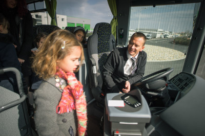 Alquiler de autobús para excursiones escolares